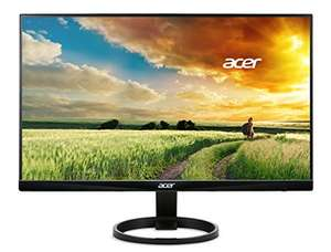 Acer R240HY Monitor 23,8 Zoll (60cm) Full HD, 60Hz, IPS, 4ms (G2G), HDMI 1.4, DVI, VGA, schwarz