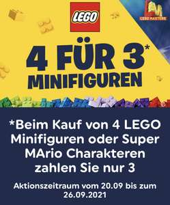 Smyths Toys - online und vor Ort / 4 Minifiguren zum Preis von 3 z.B. LEGO 71031