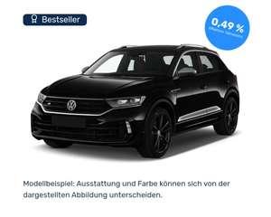 Privat Leasing VW T-Roc R 300 PS 2.0 TSI OPF DSG 4MOTION fast Vollausstattung und 8-Fach bereift für mtl 259€, 48 Monate, LF 0,44 10.000 km