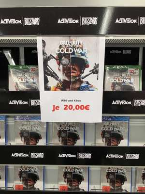 [Lokal Media Markt Wuppertal] Ps4 / Xbox Call of Duty Cold War