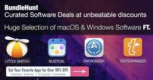 """Bundlehunt - diesmal einzelne Programme (MacOS / Windows) - und ohne """"Bundleöffnungspreis"""", z.B. Little Snitch für 25€"""