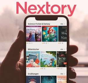 5 Euro Cashback für kostenlosen Zwei-Wochen-Test von Nextory über Questler