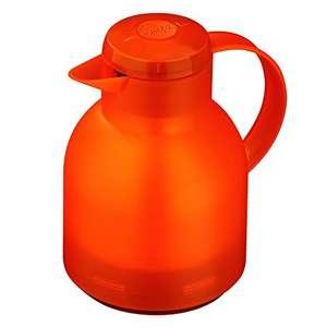 Emsa Samba Isolierkanne 1 Liter, Quick Press Verschluss (Orange Transluzent) für 5,68€ (Amazon Prime)