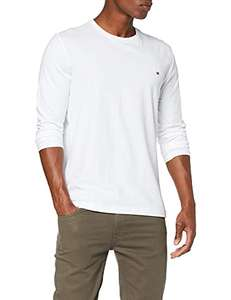 [Gr. XS] Tommy Hilfiger Herren Stretch Slim Fit Long Sleeve Tee Sporthemd