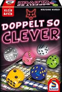 Schmidt Spiele Doppelt so clever, Würfelspiel für 6,39€ (Amazon Prime & Thalia)