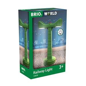 BRIO World LED-Schienenbeleuchtung - Zubehör für die BRIO Holzeisenbahn für 6,99€ (Amazon Prime & Media Markt Abholung)