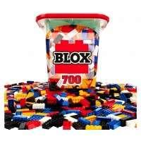 Simba Blox - 700 Bausteine, bunt inkl. Box (8er Steine)