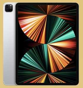 Apple iPad Pro 12,9 2021 M1 Chip Wi-Fi + Cellular 5G 128GB silber für 1049€ inkl. Versandkosten