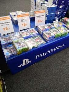 Saturn Hannover Lokal - verschiedene PS4 Spiele zum guten Kurs