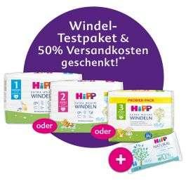 HiPP - Windel-Testpaket inklusive Feuchttücher