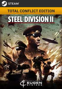 Steel Division 2 - Total Conflict Edition für 18,71€ [STEAM] [GOG] [Gamesplanet]