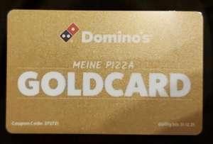 Dominos Goldcard 20% Rabatt