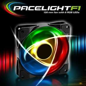 [Prime/Abholstation] Sharkoon Pacelight F1 120mm PC Lüfter | RGB | 3 Pin | 1400 rpm