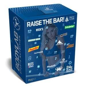 Bodylab24 Riegel Adventskalender 2021 (25 Protein- und Fitnessriegel von 13 verschiedenen Herstellern)