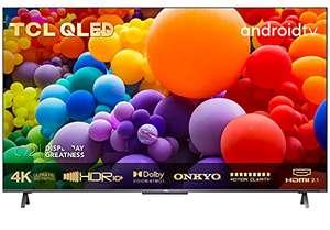 [Amazon] TCL 55C721 QLED Fernseher 55 Zoll Smart TV (4K UHD, Quantom Dot, 100% Farbvolumen, Android 11, Dolby Vision Atmos, MEMC, ONKYO)