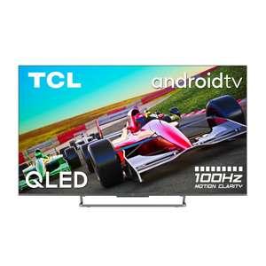 TCL 55C729 QLED TV (55 Zoll (139 cm), 4K UHD, Smart TV, Sprachsteuerung (Google Assistant)) HDMI 2.1, 120Hz ALLM, VRR, Android 11, Onkyo