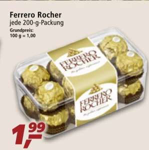 (Real ab 27.09] Ferrero Rocher in der 200g Packung (16 Stück) für 1,99€