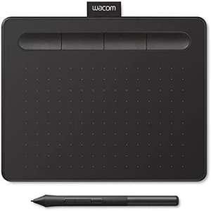 Wacom Intuos S Stift-Tablett - Mobiles Zeichentablett (zum Malen & für Fotobearbeitung mit druckempfindlichem 4K Stift & 1 Softwaredownload)
