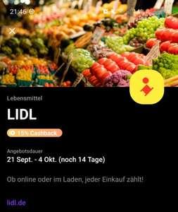 Vivid - 15% bei Lidl ohne aktive Super-Deals/Prime Deals (personalisiert)