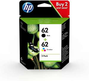 HP 62 Originalpatronen Druckerpatronen (farbig & schwarz)