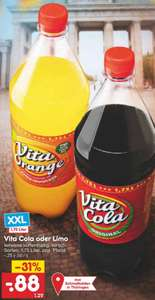 Vita Cola oder Limo 1,75l für 0,88€ [NETTO MD ab 27.09.2021]