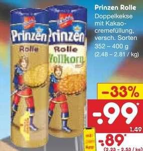 DeBeukelaer Prinzenrolle 352-400g für 0,89€ durch App-Coupon [NETTO MD ab 27.09.2021]