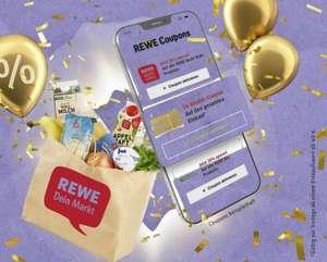 [REWE] 5,00€ Rabatt-Coupon in der Rewe App für einen Einkauf ab 40€ am Freitag 01.10.21