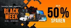 Notebooksbilliger Black Week 22. - 27.9.21, z.B. Monitor MSI MAG322CQR-002 für 357,99€