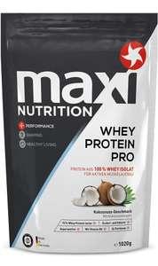 Maxinutrition Whey Isolat 1020g Vanille 15,99€