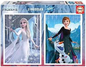 Educa Borrás Die Eiskönigin 2 Puzzleset (2x500 Teile) für 10,95€ (Amazon Prime)