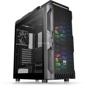 Thermaltake PC-Gehäuse Level 20 RS ARGB (ATX-Midi-Tower, Inkl. 2x 200mm-Front-Lüfter + 1x 120mm-Lüfter, 2x Glas-Seitenfenster)