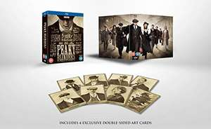 [ Amazon / UK ] Peaky Blinders - Komplettbox ( Blu-ray ) - Staffel 1-5 - 10 Discs - ACHTUNG: OT Version / Englisch