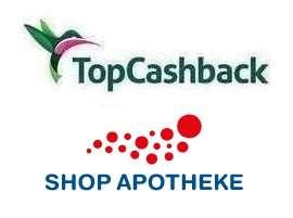[TopCashback] Shop Apotheke bis zu 15% Cashback + bis zu 20% Gutschein (kombinierbar)