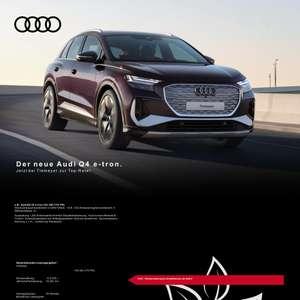 Gewerbeleasing: Audi Q4 e-tron für nur 199 Euro netto im Monat bei 24 Monaten Laufzeit   BaFa