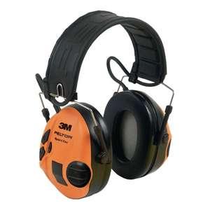 3M Peltor SportTac aktiver Gehörschutz mit Faltbügel, grün/orange, Jäger/Sportschützen