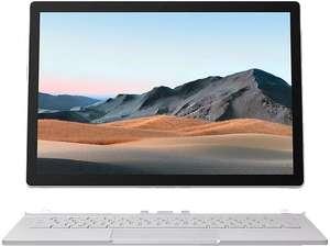 MICROSOFT Surface Book 3, Convertible mit 13,5 Zoll Display, Core™ i5 Prozessor, 8 GB RAM, 256 GB SSD, Intel® Iris™ Plus Graphics, Platin