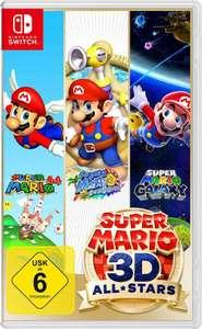 Super Mario 3D All-Stars Nintendo Switch für 39,99€ mit Lieferflat