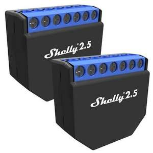 2 x Shelly 2,5 für 34,99 Euro inkl. Versand [ebay NBB] - [UPDATE: 15,87 EUR bei 4 Stück]