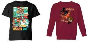 [zavvi] Bundle: Harry Potter Kinder T-Shirt & Sweatshirt für 16.99€ + 2,99€ Versand, Auswahl aus 56 Artikeln