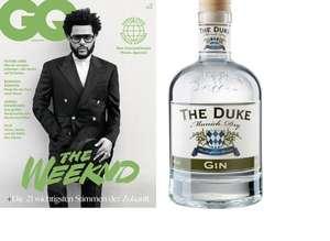 2 x GQ Magazin + 0,7l The Duke Gin (muss gekündigt werden)