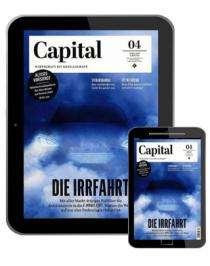 Capital Digitalabo (6 Ausgaben) für 40,02 € mit z.B. einem 40 € BestChoice-Universalgutschein (kein Werber nötig)