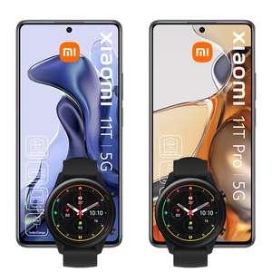 Xiaomi 11T Pro 256GB + Xiaomi 11T 128GB + 2x Mi Watch für 139€ ZZ mit 30GB LTE mobilcom-debitel Telekom green LTE für mtl. 49,99€