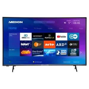 MEDION® LIFE® X15556 Smart-TV, 146,1 cm (58'') Ultra HD Display, HDR, Micro Dimming, PVR ready,