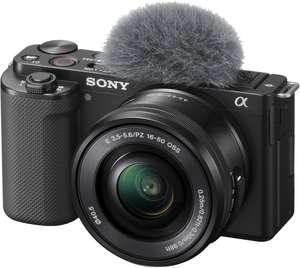 Sony Alpha ZV-E10 Systemkamera + 16-50mm F3.5-5.6 OSS Objektiv Kit
