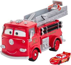 Disney Pixar Cars Farbwechsel Red Spielset und exklusives Lightning McQueen-Fahrzeug mit Farbwechseleffekt für 19€ (Müller Abholung)