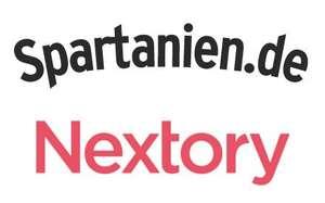 [Spartanien] 5€ Cashback / Prämie für kostenloses Probeabo von Nextory (Alternative zu Audible & Co.)