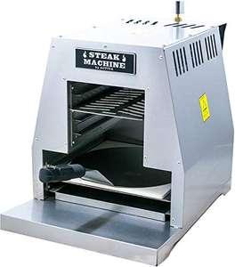 """ACTIVA Grill """"Steak Machine"""" Pizzaofen Steak-Grill 800 Grad Oberhitze-Gasgrill aus Edelstahl inkl Pizzastein und Pizzaschieber"""