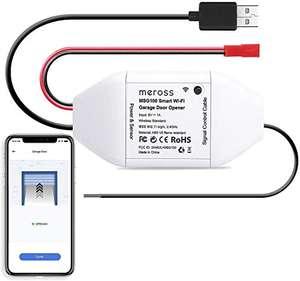[Amazon] Meross Smart Home Garagentoröffner mit Apple HomeKit, Alexa und Google Assistent