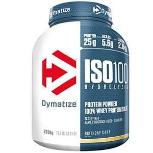 Dymatize ISO100 Whey Protein [Amazon Prime + Sparabo]