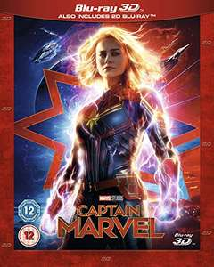 Captain Marvel (3D Blu-ray + Blu-ray) für 10,79€ inkl. Versand (Amazon UK)